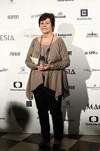 Jaroslava Pokorná dostala cenu za Nejlepší ženský herecký výkon ve vedlejší roli. I v tomto případě bodoval Hořící keř.