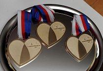 Zlaté medaile v hodnotě 1 000 000 korun
