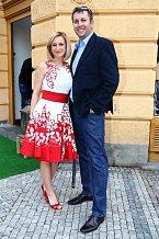 Terezie Kašparovská se svým kolegou Tomášem Hauptvogelem