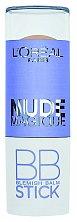 Krémová tyčinka Nude Magique BB stick se na pleti promění v pudr, L'Oréal Paris, 9 ml 300 Kč