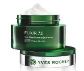 Denní péče na suchou pleť ELIXIR 7.9, Yves Rocher, 50 ml 670 Kč.