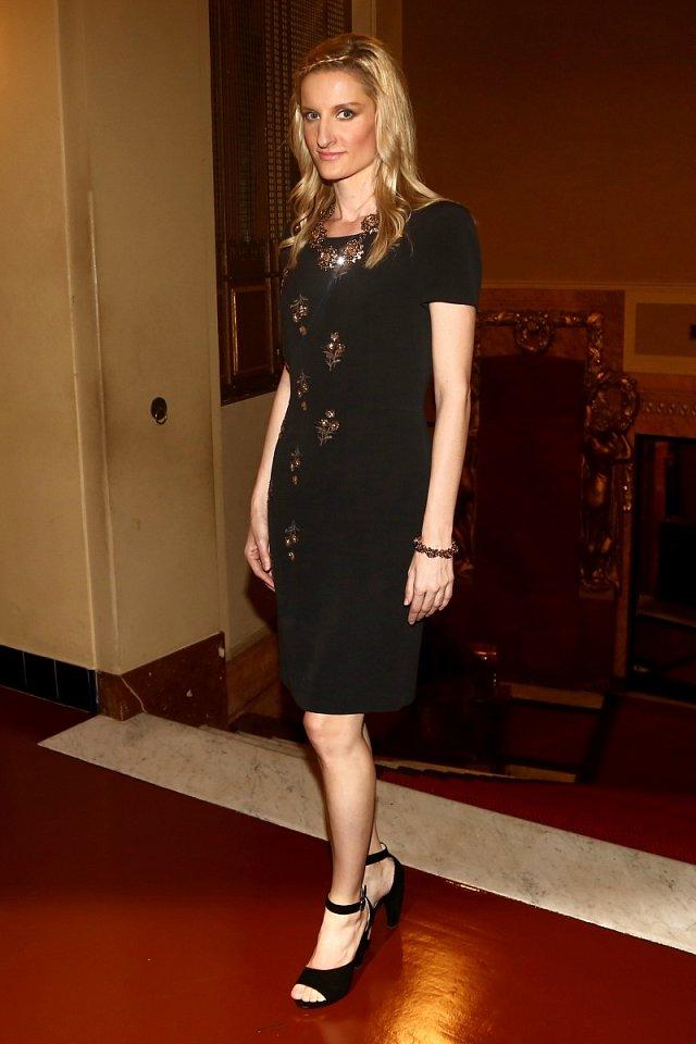 Stejně jako loni slavnostní večer Nadace Terezy Maxové moderovala Adela Banášová.