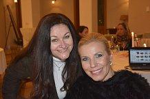 Vedoucí PR a marketingu Resortu Svatá Kateřina Eva Krížová s Andreou Ježkovou