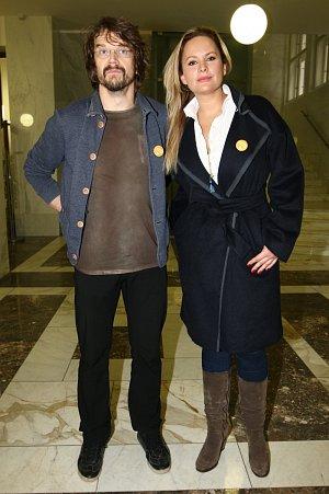Dan Bárta s Jitkou Čvančarovou spolupracuje už několik let.