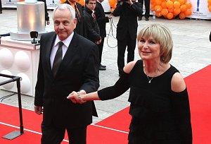 Eliska Balzerova s manzelem Janem