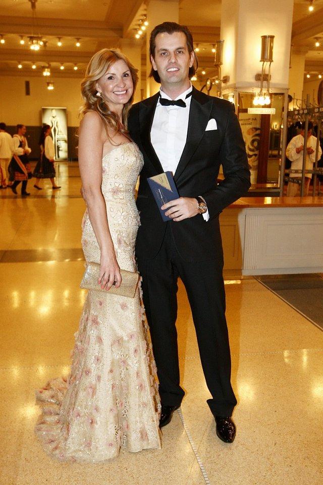 Podnikatelka Tamara Kotvalová s přítelem Romanem Hajabáčem