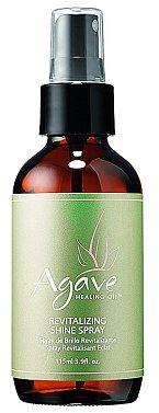 Vyživující lesk ve spreji pro vysušené a krepaté vlasy a poškozené konečky Healing Oil Revitalizing Shine Spray, Agave, www.salononline.cz, 115 ml 695 Kč