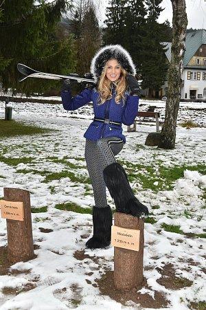 Kateřina Průšová lyžování miluje.