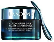 Visionnaire Nuit Beauty Sleep Perfector. Má překvapi- vou gelovou texturu, která v sobě skrývá oleje, a likviduje známky únavy. Pleť je odpočatá, jem- nější, pružnější a zářivější. (Lancôme, 2500Kč)