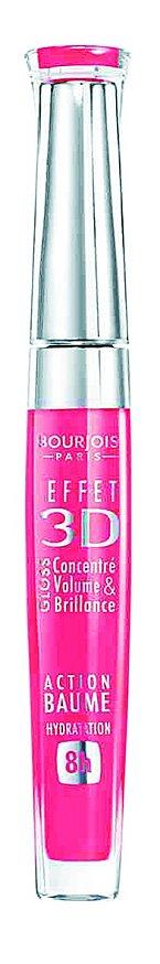 bjem dodávající Effect 3D lipgloss odstín č. 59 Rose Allegorical, Bourjois, 329 Kč.
