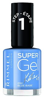 Lak na nehty 1 krok Super Gel by Kate odstín č. 052 Blue Babe, Rimmel London, 95 Kč