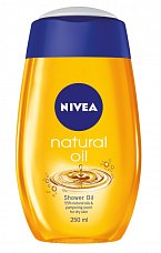 Sprchový olej, Nivea, cena 100 Kč.