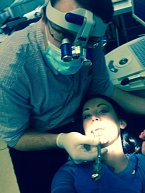 """Agáta """"vysílala"""" na Facebooku svou návštěvu zubaře přímým přenosem"""