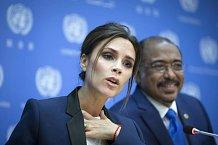 Victoria Beckham se stala velvyslankyní OSN 25. září a od té doby má plné ruce práce.