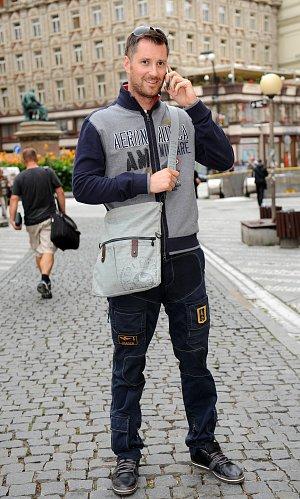 Petr Vágner preferuje tašku přes rameno