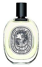 Svěží abstraktní parfém Florabellio s dominancí květů jabloně a exotické vonokvětky vonící po meruňkách a kůži, Diptyque, Ingredients, 100 ml 2550 Kč.