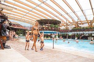 Klára Medková se svými syny si v aquaparku užívala sladkého nicnedělání.