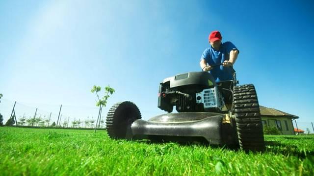 Údržba zahradní techniky a nářadí