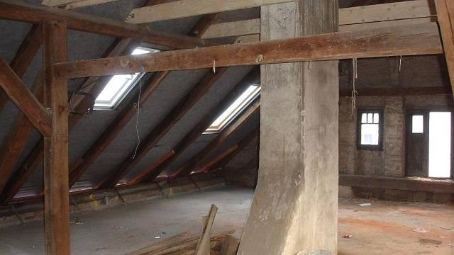 V podkroví budou dvě ložnice