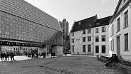 Městská tržnice, Gent, Belgie