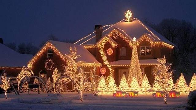 Vánoční zdobení domů 6