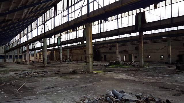 Slavná výrobní hala Pragovky, která je dodnes oceňována i pro svou architekturu