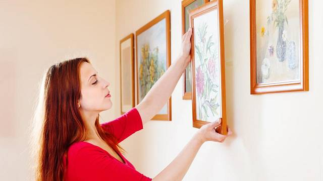Obraz na stěně