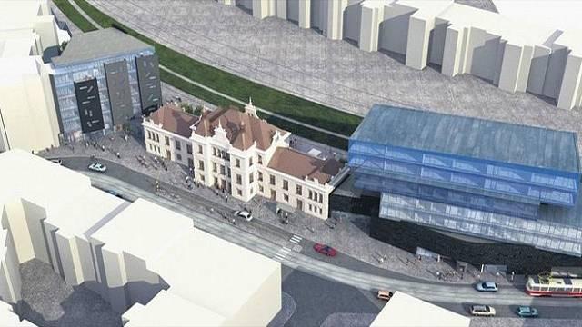 Plán s dostavbou dvou moderních budov byl pozměněn, obě stavby už nesmí převyšovat budovu nádraží
