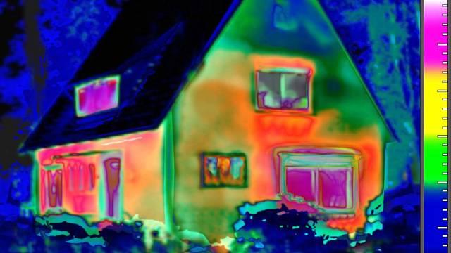 Termální obrázek domu