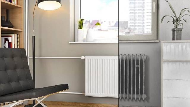 Výměna litinového radiátoru za deskový je snadnou cestou, jak náklady za vytápění snížit. Proudění tepla by ale v žádném případě neměl bránit nábytek ani těžké závěsy.