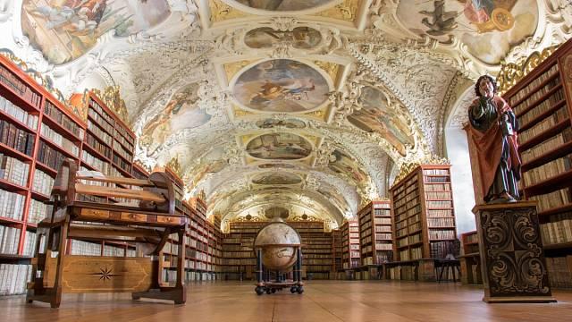 Knihovna v klášteře na Strahově