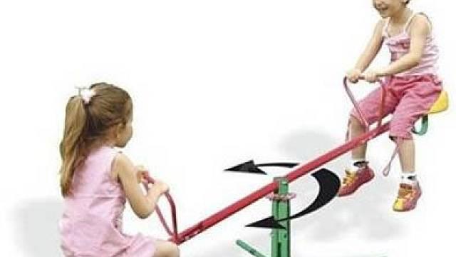 Dětské hračky na zahradu