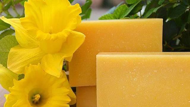 Podomácku vyrobené mýdlo
