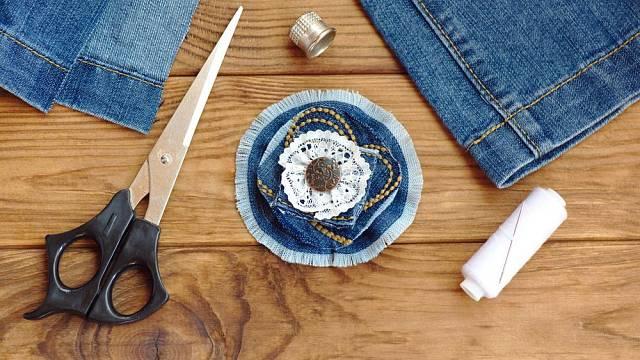 Kreace ze starých džínů