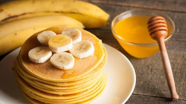 Banánové lívance