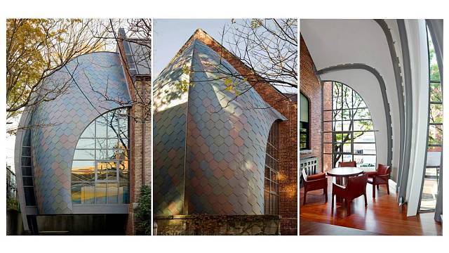 Přístavba kanceláře ke kostelu