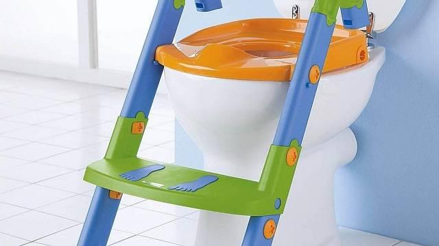 Záchodové prkénko pro děti, nočník i schůdky v jednom. Zdroj: Amazon.com