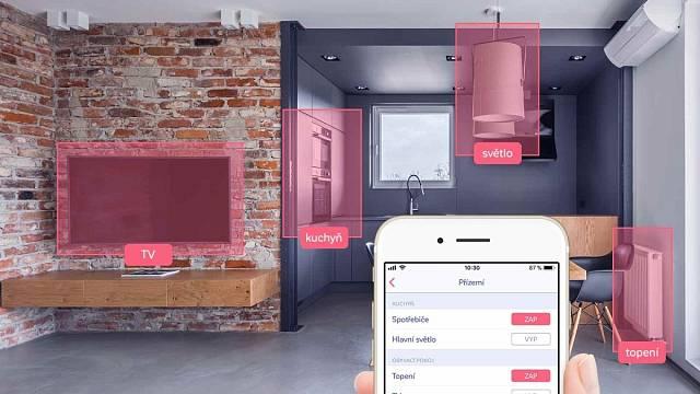 Vzdálené ovládání chytré domácnosti HDL umožňuje mobilní aplikace Myjordomus, která používá šifrovanou komunikaci a digitální certifikáty s úrovní zabezpečení, jakou mají banky.