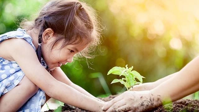 Zahradničení s dětmi