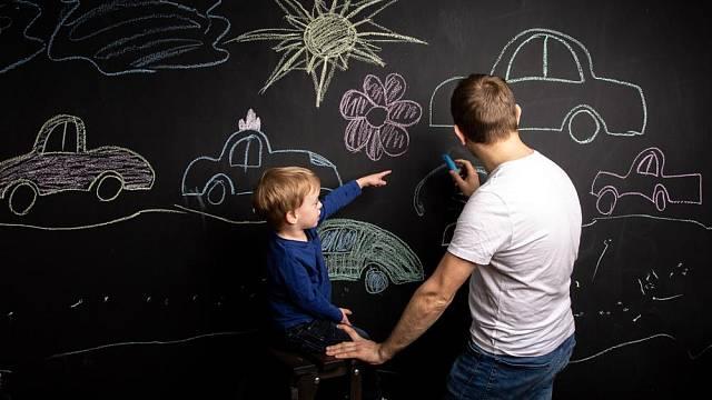 Kreslení na stěnu