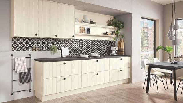 I jednořadá kuchyně může vypadat stylově.