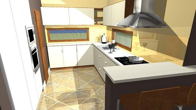 Nová kuchyně paní Barbory