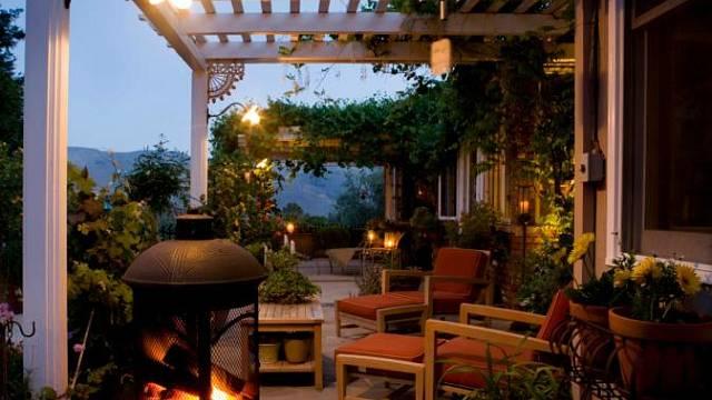 Zahradní místnosti