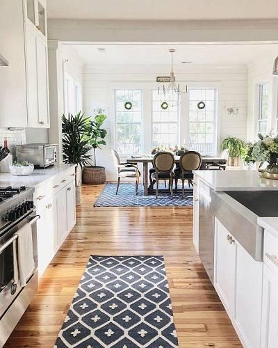 Koberec v kuchyni
