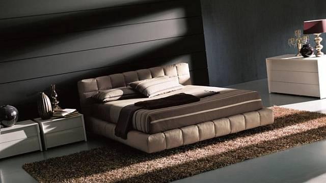 Dáváte-li přednost čalounění, pak ho můžete mít i na rámu postele, je to oproti běžnému dřevu přece jen o něco pohodlnější. Příkladem je model Apollo firmy Bontempi. V nabídce je kromě kůže také široká nabídka látkových potahů, které jsou snímatelné. R...