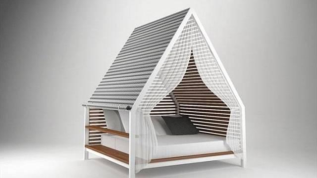 Jak jinak než Cottage mohla nazvat designérka Patricia Urquiola jeden ze svých posledních počinů. Postel připomínající domek či stan se přece do takového prostředí hodí. Navržena je nejen do interiéru, ale díky použitým materiálům je vhodná také ven. ...