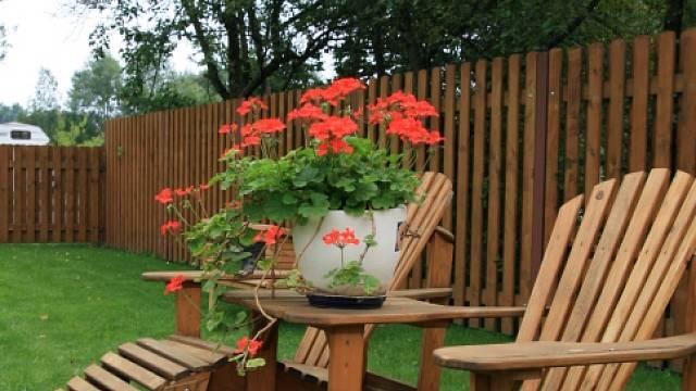 Odpočinek na zahradě 2