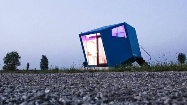 Netradiční architektura: Hypercubus 2