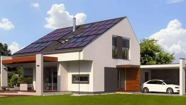 Všechny svislé konstrukce rodinného domu Aktiv 2020 jsou navrženy z cihel Heluz. Součinitel prostupu tepla obvodového zdiva s celoplošným lepidlem, kontaktním zateplovacím systémem tl. 100 mm a vnitřní omítkou BAUMIT UNI tl. 15 mm, pevnosti P8, je U=0,...