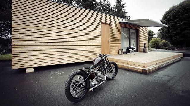 Dřevěný domek  1